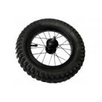 Front Wheel Set for 12.5 (pre 2015) with black hub