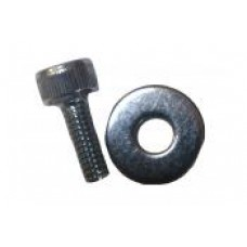 Motor shaft end bolt & washer for all.